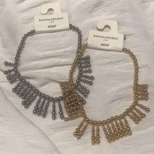 NWT- Banana Republic - 2 necklaces